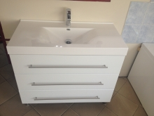 Nina 100 cm komplett fürdőszoba bútor