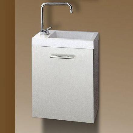 Sanotechnik FANTASY 40 alsó bútor , mosdóval - fehér