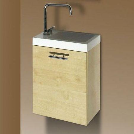 Sanotechnik FANTASY 40 alsó bútor , mosdóval - juhar