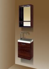 Sanotechnik FANTASY 40 komplett fürdőszoba bútor, dió