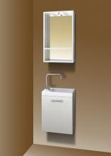 Sanotechnik FANTASY 40 komplett fürdőszoba bútor, fehér