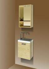 Sanotechnik FANTASY 40 komplett fürdőszoba bútor, juhar