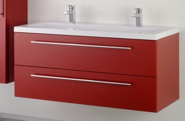 Sanotechnik FIORA 120 alsó bútor mosdóval