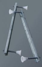 Sanotechnik Kádláb testformájú kádakhoz L-1500