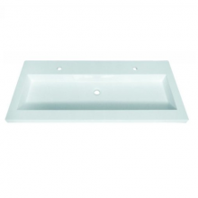 Sanotechnik mosdó, dupla, öntött márvány, ráépíthető D1200