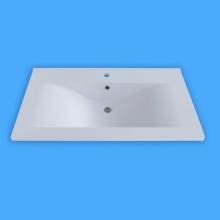 Sanotechnik öntött márvány mosdó, ráépíthető D6050