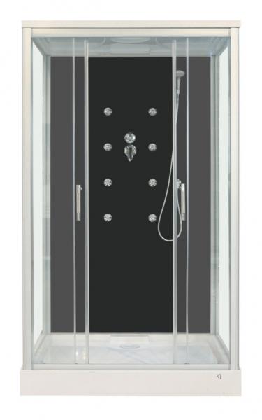 Sanotechnik ROXANA hidromasszázs zuhanykabin CL129