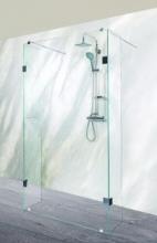 Sanotechnik Sanoflex Wide MU100 háromrészes zuhanyfal 98x30/30x195 cm