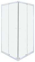 Sanotechnik Sarokkabin 2 tolóajtóval, fehér B8090