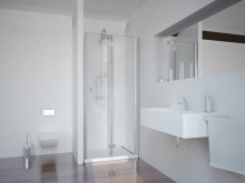 Sanotechnik SMARTFLEX 100 cm zuhanyajtó, jobbos D12101FR