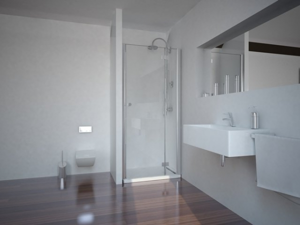 Sanotechnik SMARTFLEX 100 cm zuhanyajtó, jobbos D12101R