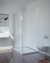 Sanotechnik SMARTFLEX 100 cm zuhanyfülke fal, króm D11100