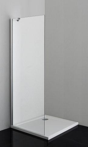 Sanotechnik SMARTFLEX 120 cm zuhanyfülke fal, króm D11120