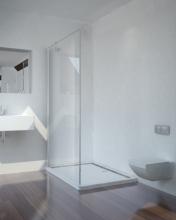 Sanotechnik SMARTFLEX 70 cm zuhanyfülke fal, króm D1170