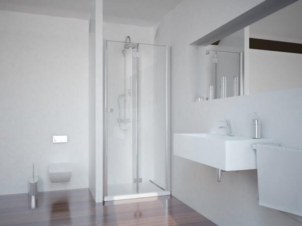 Sanotechnik SMARTFLEX 80 cm zuhanyajtó, jobbos D1281FR