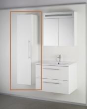Sanotechnik SWEET/FIORA fali kiegészítő szekrény, fehér 70700