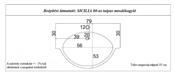 Sicilia mosdókagyló