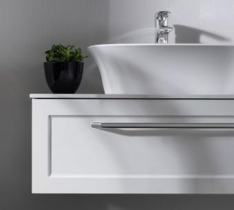 Kolpa San Blanche 75 alsó bútor Kerrok pulttal antracit mosdóval