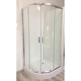 Deante Funkia 80x80 cm íves zuhanykabin (tálca nélkül)