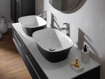 Kolpa san Blanche 150 alsó bútor Kerrok pulttal fehér mosdóval
