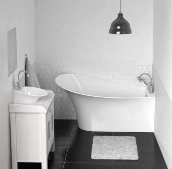Marmorin Misa fürdőkád balos