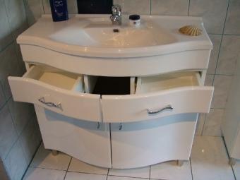 Marokko 90 cm komplett fürdőszoba bútor