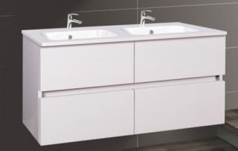 Wellis Elois White 120 alsó fürdőszoba bútor