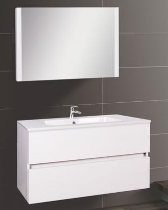 Wellis Elois White 80 komplett fürdőszoba bútor