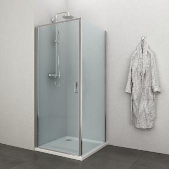 Sanotechnik E1690 szögletes zuhanykabin 90x90 cm