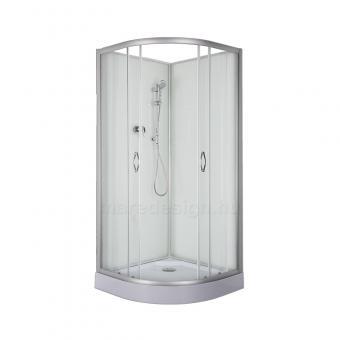 Sanotechnik PS01 90x90 cm hátfalas zuhanykabin