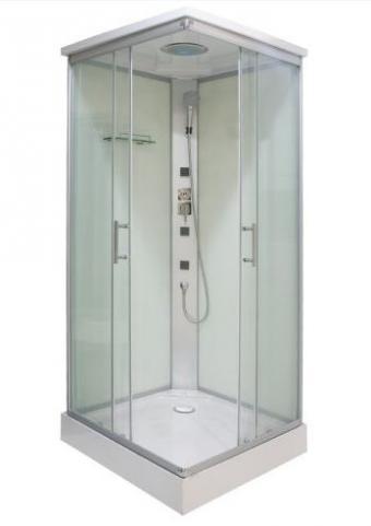 Sanotechnik TC06 Komplett hidromasszázs zuhanykabin 90x90 cm