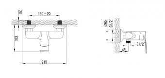 Wellis Asti zuhany csaptelep ACS0211
