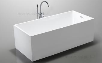 Wellis Flavia 170x80x60 cm térkád + Via csap