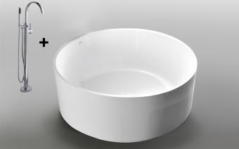 Wellis Gloria 138x138x50 cm térkád + Via csap