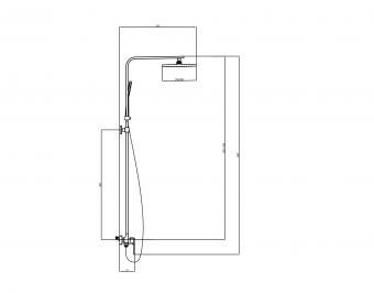 Wellis Mamba zuhanyoszlop ACS0304