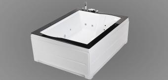 Wellis Nera Maxi Hydro™ 185x150 cm hidromasszázs kád