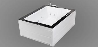 Wellis Nera Maxi E-Drive™ TOUCH 185x150 cm hidromasszázs kád WK00009-6