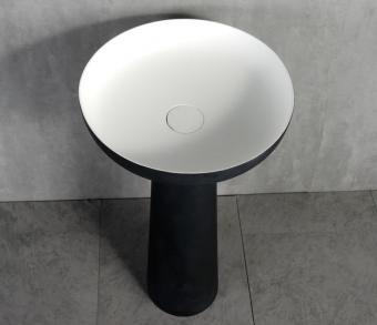 Wellis Pillar Black szabadonálló mosdó WB00444