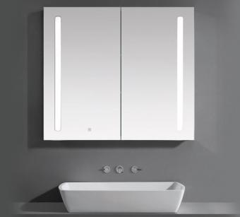 Wellis Tenerife tükrösszekrény LED világítással 120 cm