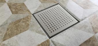 Wellis W-Drain folyóka - Square 15x15 cm WE00103