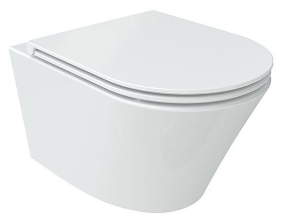 Wellis Clement fali rimless WC