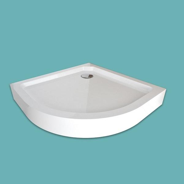 Wellis íves magas zuhanytálca  90x90x15 cm WC00405