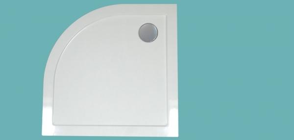 Wellis íves zuhanytálca  80x80x4 cm WC00411