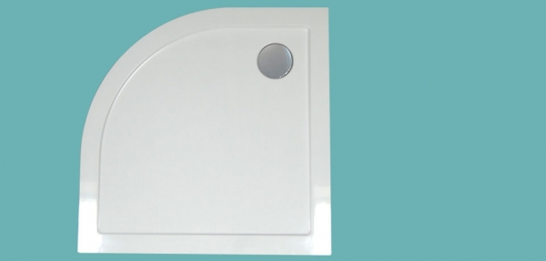 Wellis íves zuhanytálca  90x90x4 cm WC00407