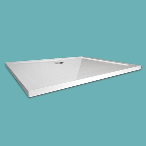 Wellis téglalap alakú 120x80x4 cm zuhanytálca WC00406